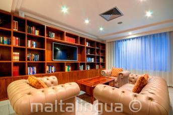 Hotel Argento, St Julians odpočinková místnost