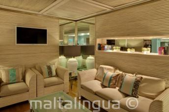 Odpočinková místnost hotelu Juliani
