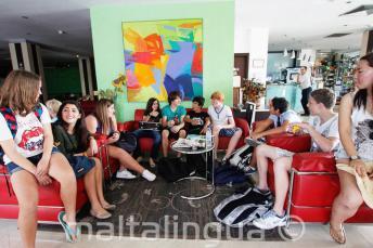 Studenti ve školní rezidenci