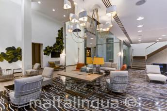 Lobby Hotel Valentina, St Julians