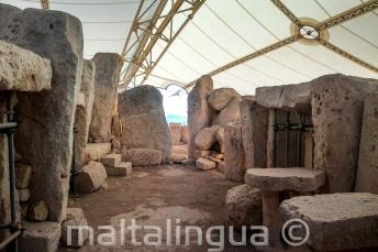 Prehistorický chrám Ħaġar Qim