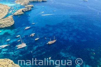 Foto Comina z leteckého pohledu