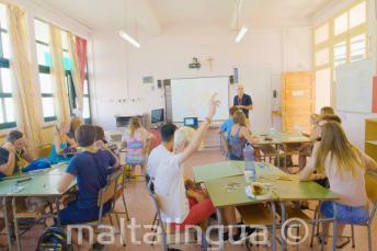 Učebny letní jazykové školy