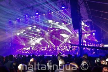 Rockestra festival na Maltě