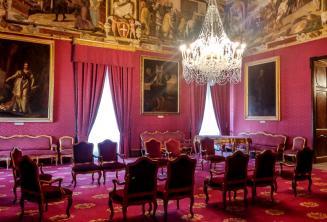 Pokoj v paláci ve Vallettě
