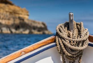 Lano, tradiční maltské lodi.