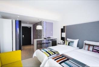 Moderní pokoj v Hotelu Valentina, Malta
