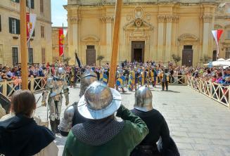 Rekonstrukce bitvy ve Mdině, Malta