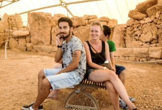 Prohlídky s průvodcem po maltských staróvěkých chrámech