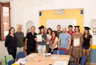 Studenti, kteří s námi úspěšně dokončili jazykový kurz.